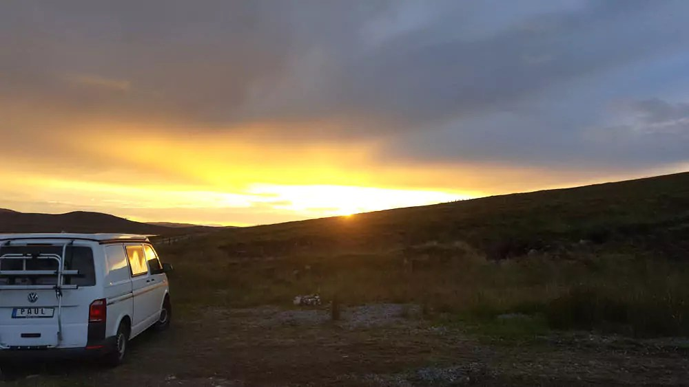 Roadtrip Schottland - Freistehen in den Highlands