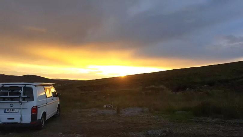 Roadtrip Schottland - Freistehen in den Highlands