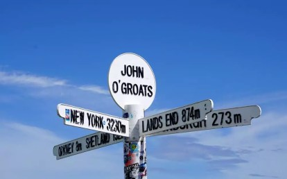 Roadtrip Schottland mit VW-Bus - John o' Groats