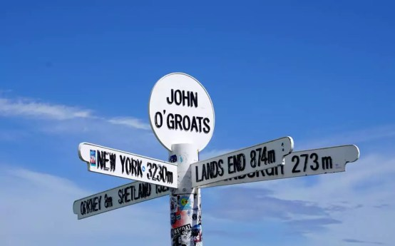 Roadtrip Schottland mit VW-Bus - John o' Groats