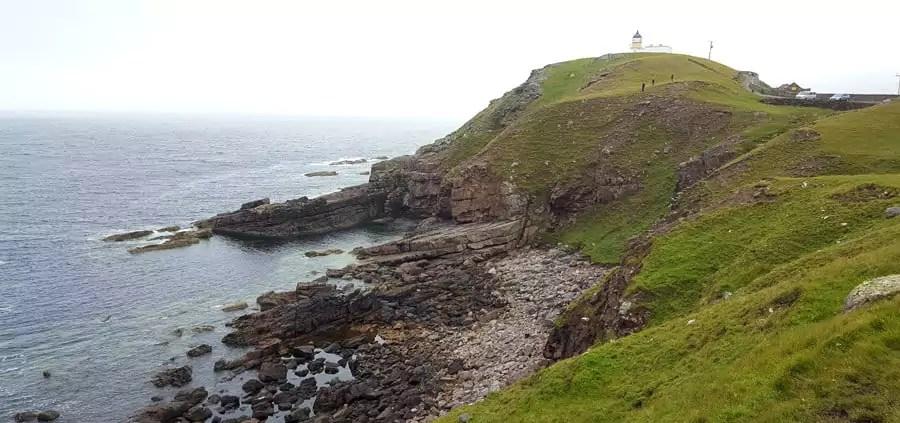 Schottische Highlands - Leuchtturm Stoer Head