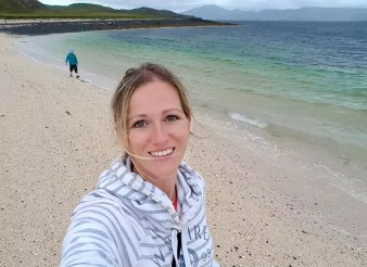 Highlight Isle of Skye Schottland - Coral Beach