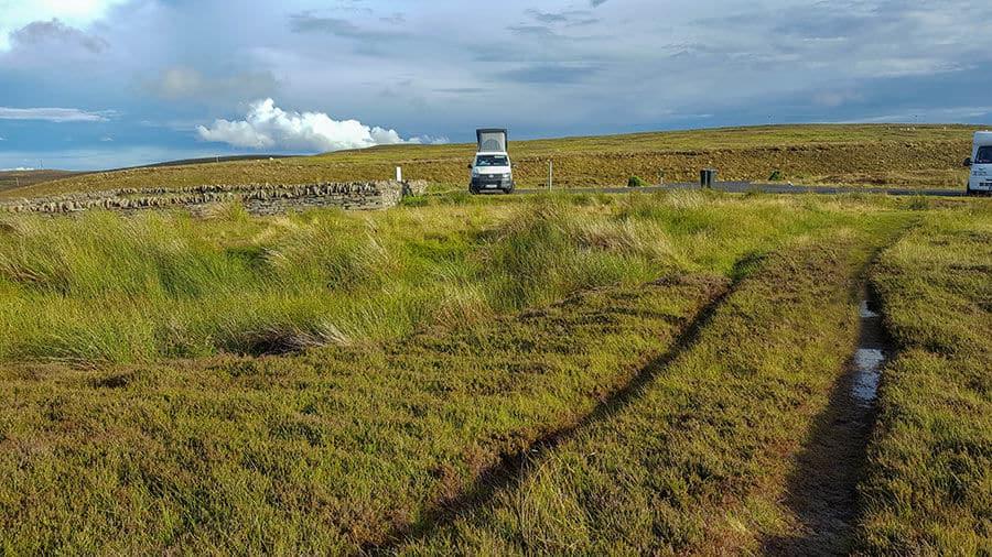 Freistehen mit Campervan und Wohnmobil in Schottland