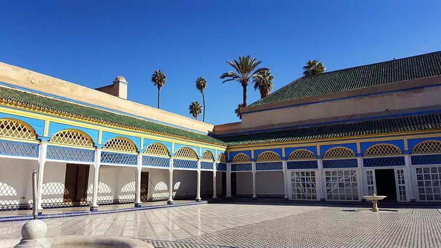 Tipps für Marrakesch mit Kind - Bahia Palast