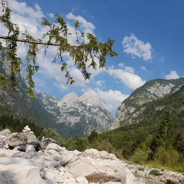 Campingplätze im Triglav Nationalpark direkt an der Soča