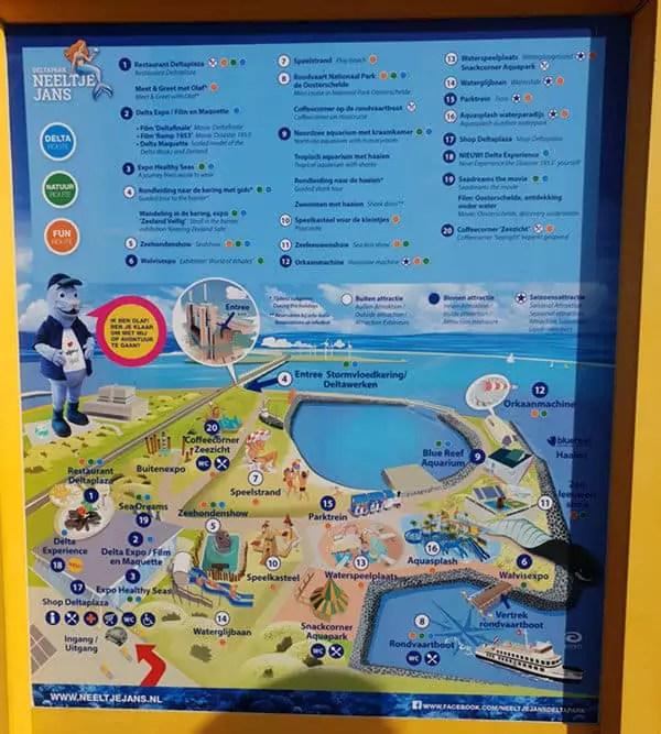 Aktivitäten und Unternehmungen in Zeeland mit Kind - Deltapark