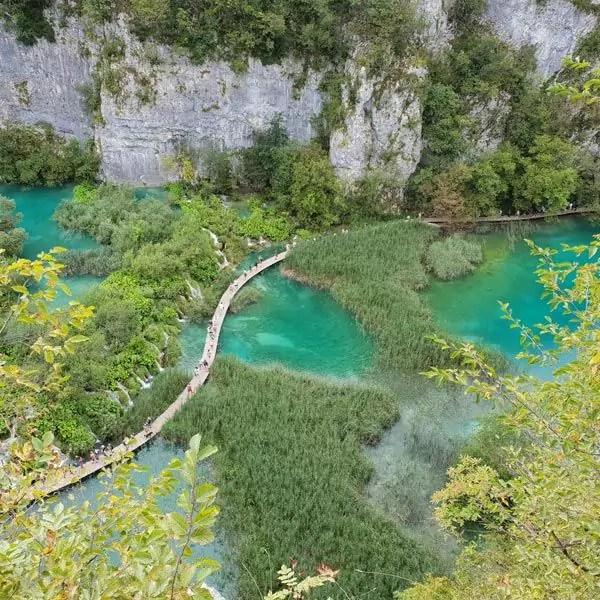 Der Nationalpark Plitvicer Seen in Kroatien
