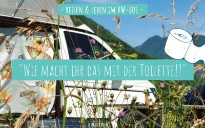 Toilette im VW-Bus – meine Erfahrung mit unserer Trocken-Trenntoilette