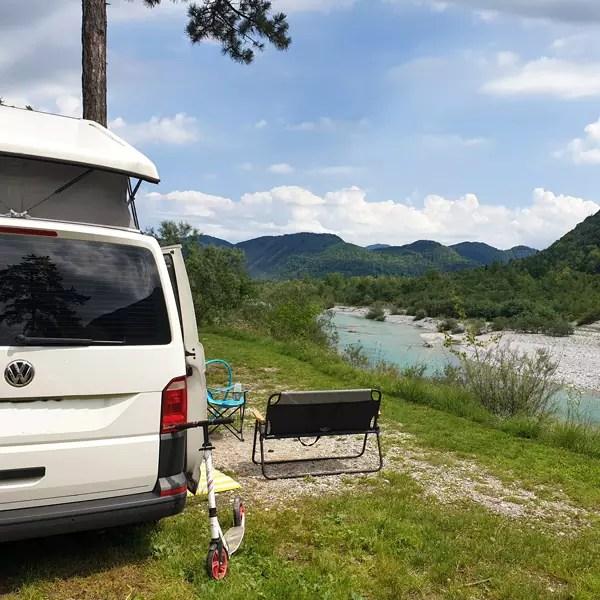 Camping im Sofa Tal Slowenien - Camp Gabrje