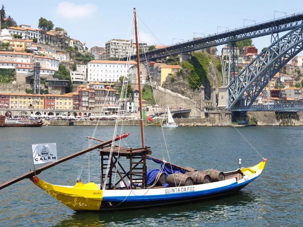 Start unserer Reise durch das Douro-Tal: Porto