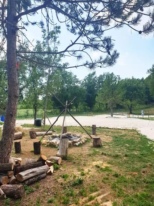 Camp Vita Mia in Istrien, Kroatien