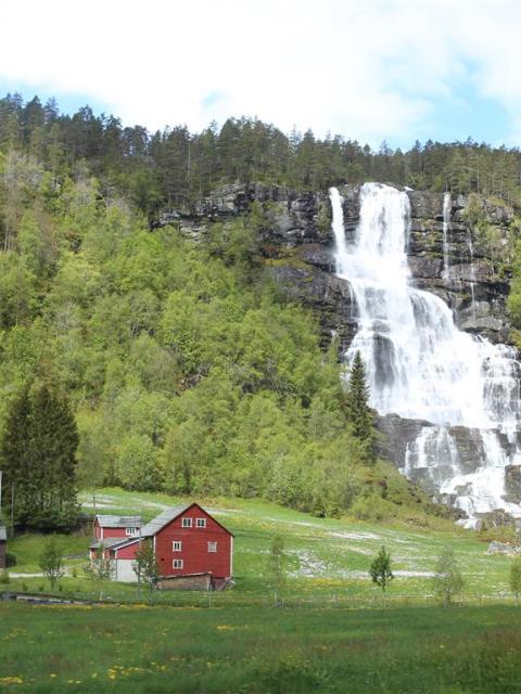 Idylisches Norwegen