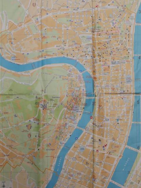 Stadtplan Lyon