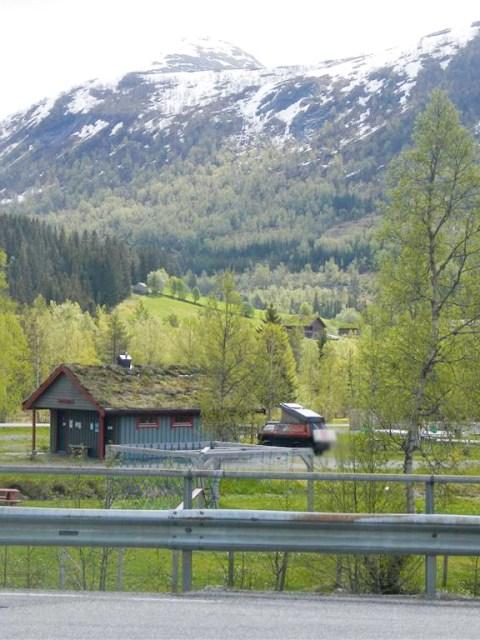 verlassener Campingplatz Richtung Bud
