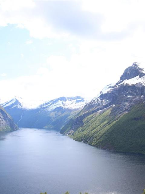 Geirangerfjord von Hellesylt