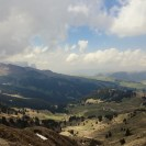 Bergpanorama Seiser Alm