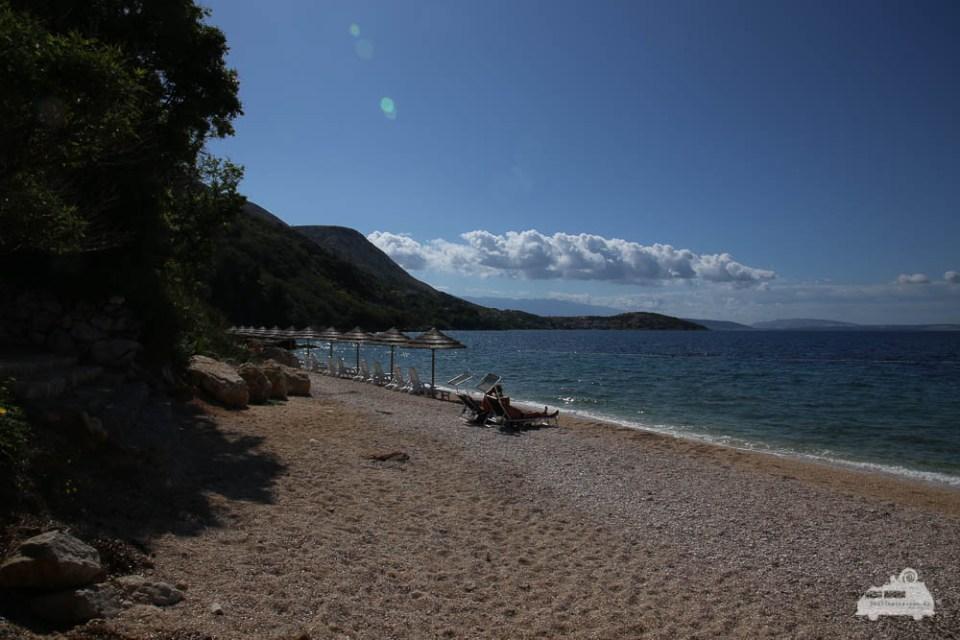 Badestrand Kroatien