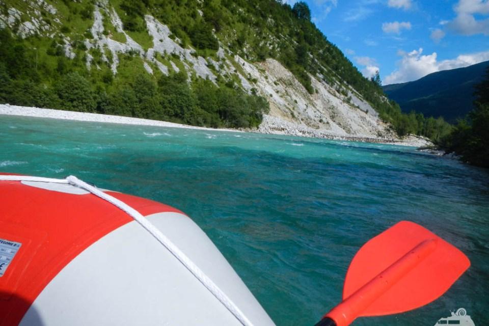 Rafting im Soca Tal