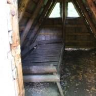Eine Schäferhütte zum Probeliegen
