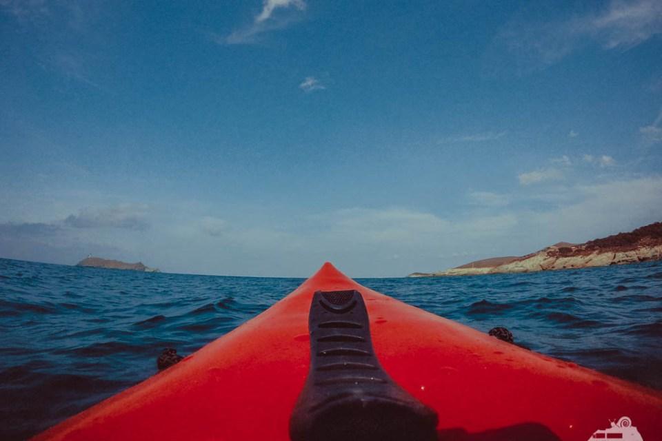 Kayak Tour auf Korsika