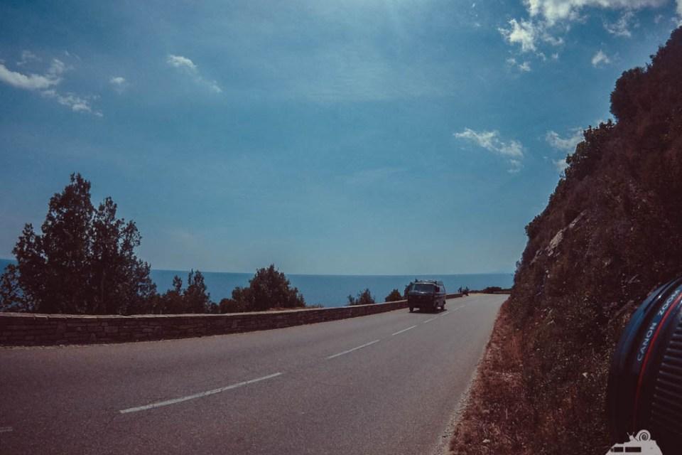 VW Bullitour Korsika