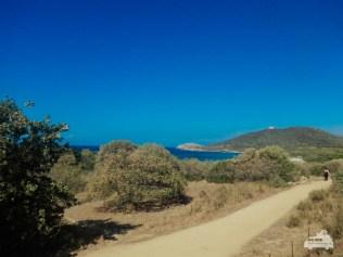Zugfahrt auf Korsika