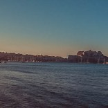 Calvi im Sonnenuntergang