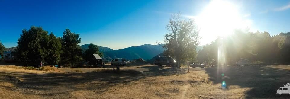 Panoramablick Camping l'Acciola Evisa