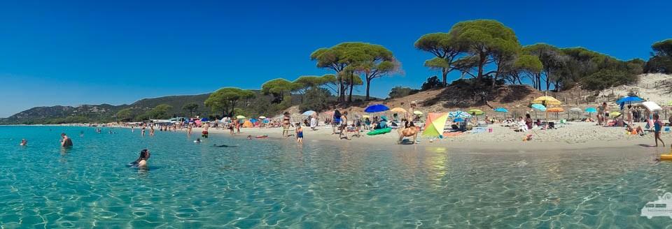 Paradiesstrand auf Korsika