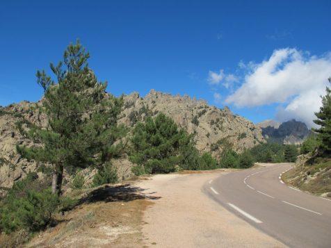 Col de Bavella auf Korsika