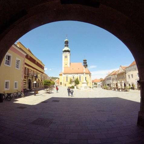 Jurisics Platz Köszeg