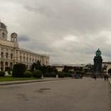 Panorama Theresienplatz wien