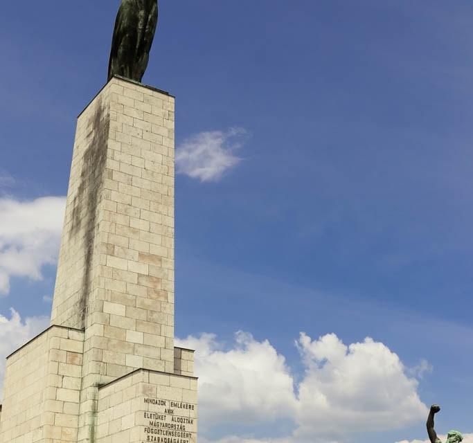 Freiheitsstatue auf dem Gellértberg