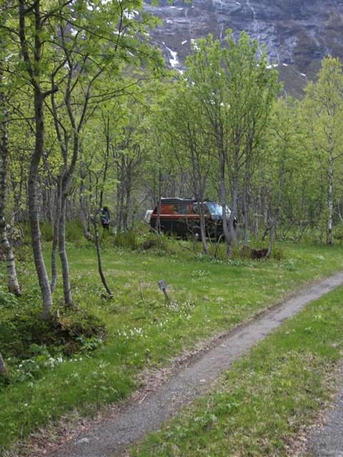 Wohnmobil Stellplatz Norwegen