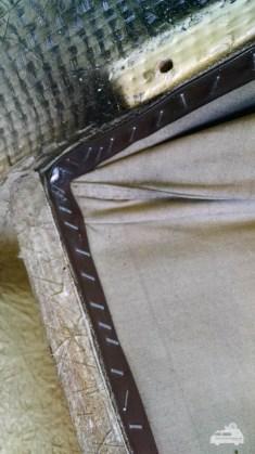 Faltenbalg befestigung am Reimo Hattrick Klappdach