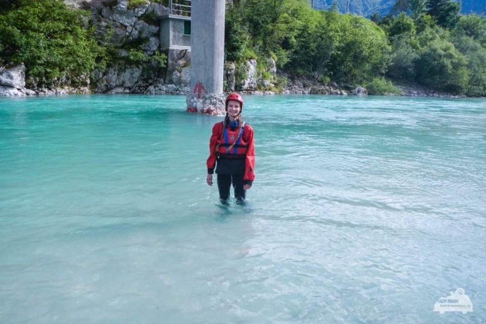 Wildwassertour auf der Soca