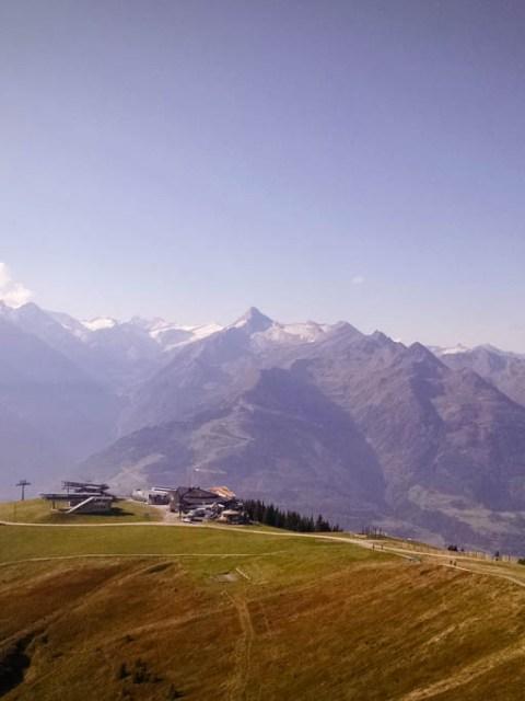 Die Bergstation der Schmittenhöhe