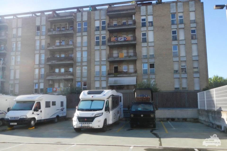 Wohnmobil Stellplatz Girona Empfehlung