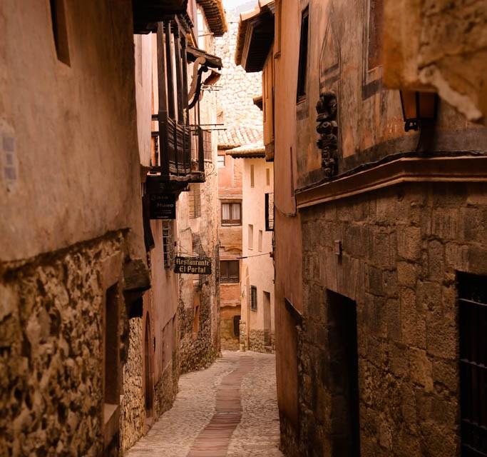 In den Gassen von Albarracin