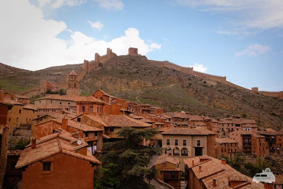 Albarracin mittelalterliche Stadt Spanien