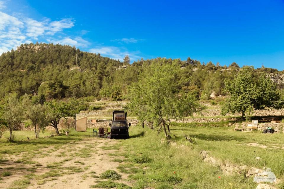 Stellplatz im landesinneren in Spanien (3)