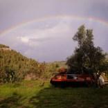 Roadtrip im VW Bulli mit Kind durch Südeuropa