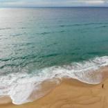 Atlantikküste von oben