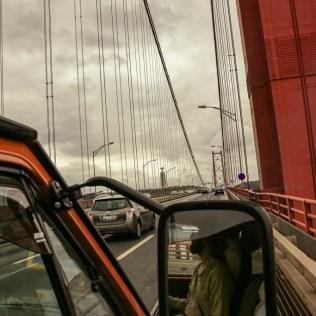 Golden Gate Brücke Lissabon