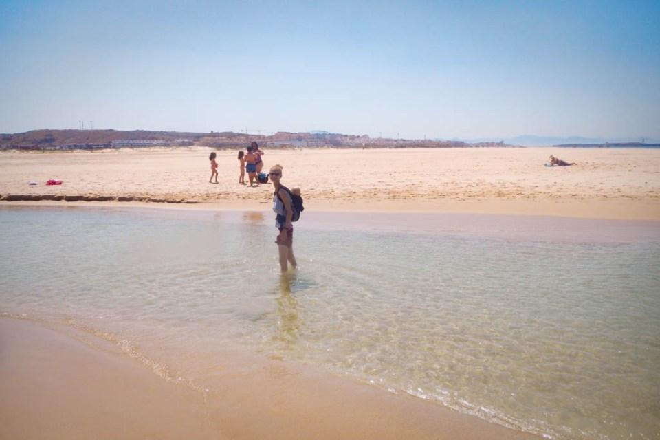 Gemeinsame Strandwanderung