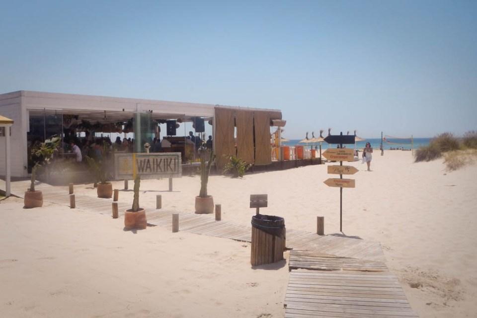 Spanien Beach Bar