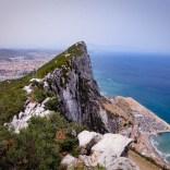 Fels von Gibraltar in GB und doch in Andalusien