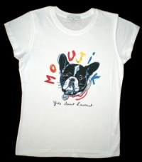 Yves Saint Laurent French Bulldog Moujik T Shirt