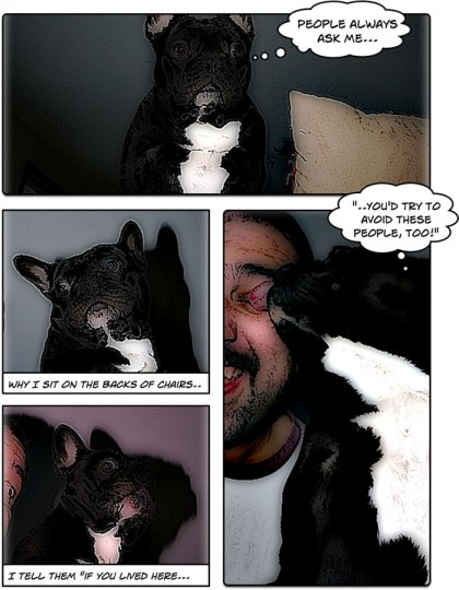 Saturday Morning Delilah Comic Strip