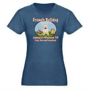 French Bulldog Jamboree Weekend T Shirt